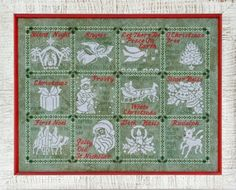 Glendon Place Medley of Carols posted by Stitches 'N Things