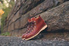 Fracap M120 Hiking Boot - Brown   Kith NYC