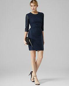 REISS Dress - Talia Lace Bodycon   Bloomingdale's