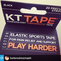 What does #kttape do? To put it simply, it helps you #playharder. Thx for the pic @betenoiresmash! by Recover Faster, Play Harder, via Flickr Play Hard, Pain Relief, Tape, Health, Massage, Sporty, Health Care, Band, Ice