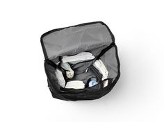 Baby Dreamer - Diaper Bag Pack - Black. Made in a Nordic minimalistic design with high functionality