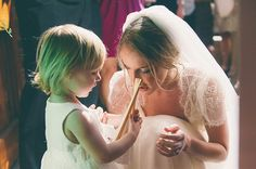 My little flowergirl and I at my wedding. xxx
