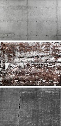 Concrete/Brick Wallpaper, ha!