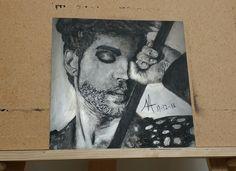 Prince - Famous Singer - Custom Metal Artwork - Fan Art by ArtByNadiaTorrente on Etsy