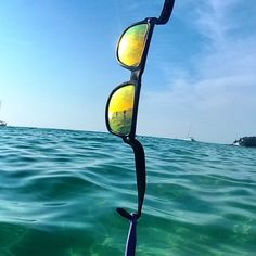 floating sunglasses 63no  #Baendit Sunglasses on the water #vacation