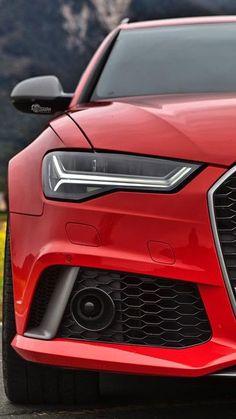 Audi RS 6 #red #rojo
