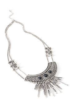 Forever 21| Tribal-Inspired Bib Necklace | Been interested in more tribal pieces lately