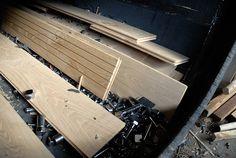 Verouderen van de houten vloer