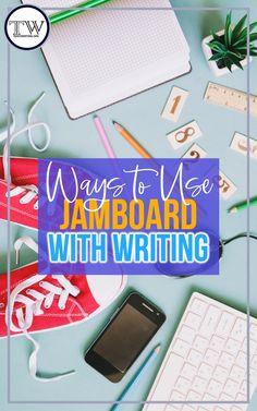 Engage middle and high school students in meaningful writing activities using Jamboard! Target writing skills efficiently and effectively. Ideas for getting started. #MiddleSchoolELA #HighSchoolELA #EnglishTeacher Writing Lessons, Teaching Writing, Writing Strategies, Writing Resources, Writing Ideas, Writing Skills, Learning Resources, Teacher Resources, Argumentative Writing