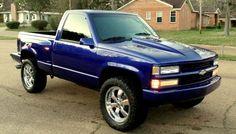 1994 Chevrolet Silverado 1500 Z71 4X4 STEPSIDE C/K 1500 TRUCK CHEVY GMC SIERRA K   eBay Motors, Cars & Trucks, Chevrolet   eBay!