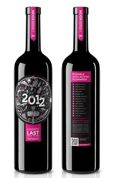 I tell you, the world will not end on Dec. 21, 2012. Still, wine is always a good choice.