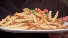 Truffle-laced fries recipe