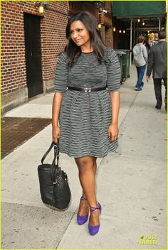Mindy Kaling - Hilarious, creative, bold. Love her and her sense of humor.