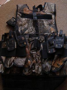 Temp-tactical-vest - tactical vest #TacticalVest #HuntingVest #MilitaryVest #ShootingVest #PaintballVest