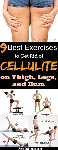 Best Exercises to Get Rid of Cellulite on Thighs, Legs and Bum Fast. There are many ways for cellulite removal; exercise, diet, home remedies. Try These 9 exercises to reduce cellulite: Barbell Step Ups. Thigh Cellulite, Causes Of Cellulite, Cellulite Exercises, Cellulite Remedies, Reduce Cellulite, Cellulite Scrub, Cellulite Cream, Cellulite Workout, Vicks Vaporub