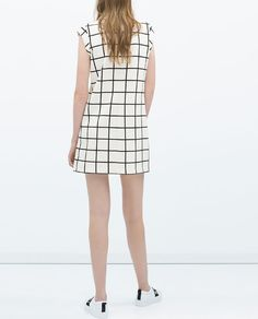 ZARA - WOMAN - DRESS WITH CONTRASTING COLLAR