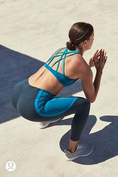 Take your workout no new heights.   lululemon