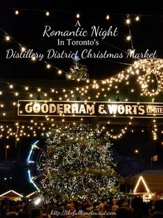 A snowless Toronto would have put a damper on the holiday spirit if it weren't for the annual Distillery District's Christmas Market! Here is what makes the market the perfect date night this holiday season- whether you celebrate Christmas or not! The Full-Time Tourist, 2016 ©