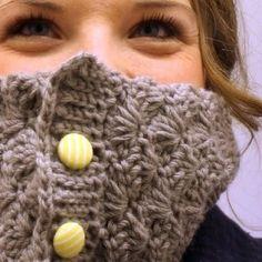 The Shell Crochet Cowl: Free Pattern