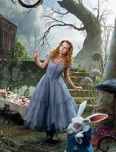 Alice in Wonderland Movie Clothes