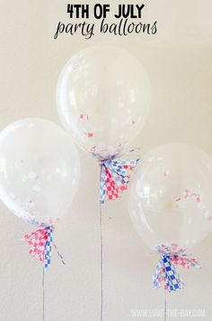 4th of July Party Balloon Tutorial