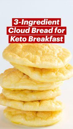 Keto Desert Recipes, Healthy Low Carb Recipes, Ketogenic Recipes, Keto Recipes, Cooking Recipes, Low Carb Snack Ideas, Low Carb Bread, Low Carb Keto, Keto Bread
