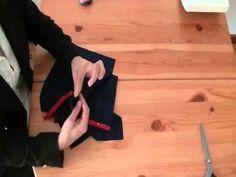 Come cucire una cerniera invisibile - YouTube