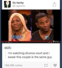 Tumblr funny - Divorce Court