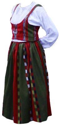 Laihia national dress, Finland