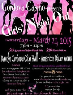Girls night out to support Blessings In a Backpack, Rancho Cordova, CAIf you are considering a move to Rancho Cordova, California you will be please to see all of your options! Brought to you by the Personal personal injury lawyers at www.AutoAccident.com #RanchoCordova #california #Rancho #RanchoCitizen #girlsnight #partytime #goodtimes #relax #enjoy #letyourhairdown #comejointhefun #personal #personalinjury #attorney #injuryattorney #accidentattorney