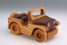Little Jeep Christmas gift wood toys