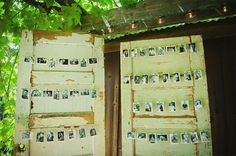 Pictures Escort Cards Ideas