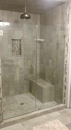 Walk In Shower Doors, Marble Tile Bathroom, Shower Remodel, Home Reno, Master Bath, Bathtub, Design, Standing Bath, Bathtubs