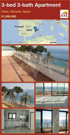 3-bed 3-bath Apartment in Altea, Alicante, Spain ►€1,000,000 #PropertyForSaleInSpain