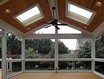 screened porch with skylights - Yahoo Image Search Results