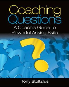 Coaching Questions: A Coach's Guide to Powerful Asking Skills by Tony Stoltzfus, http://www.amazon.com/dp/B00GR7AX1G/ref=cm_sw_r_pi_dp_27PCtb0Q8QA4S