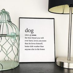 This printable is a cute and funny piece of dog home decor you can easily print out and hang on your walls! The simple black text on a white background will easily go along with the rest of your wall decor. It will be available in minutes. Just buy it, print it, frame it, hang it, and enjoy it! Dog Quotes Funny, Funny Dogs, Dog Accessories, Home Decor Accessories, Dog Room Decor, Wall Decor, Entryway Decor, Feng Shui, Dog Rooms