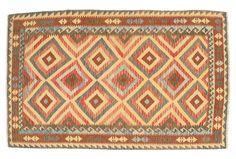 Kelim Afghan Old style teppe 156x246