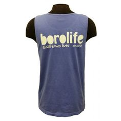 This Comfort Colors tank features the Boro Life logo screen printed across the back and on the front left chest. #MTSU #BoroLife #textbookbrokers #Murfreesboro #comfortcolors