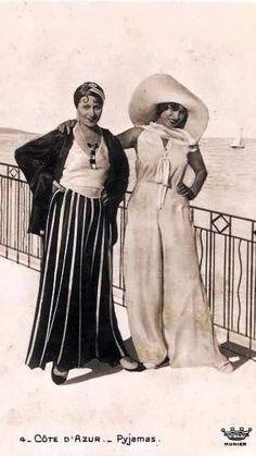 Beach Pajamas - 1930's - Côte d'Azur, France
