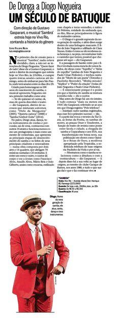 #DiogoNogueira 2015 O Globo