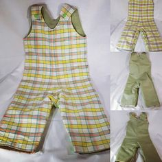 Nouveauté sur la boutique, salopette bébé style rétro taille 1 an