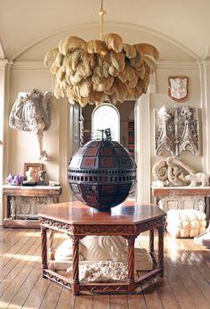 Chandelier, Light, Lighting Design and Ideas Luxury Chandelier, Diy Chandelier, Elegant Home Decor, Elegant Homes, Chandelier Centerpiece, House Essentials, Hotel Interiors, Home Office Decor, Beautiful Interiors