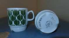 Kopp designet for Egersund av Tias Eckhoff. Mugs, Tableware, Glass, Design, Dinnerware, Drinkware, Tumblers, Tablewares, Corning Glass