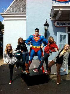 Six Flags Superman