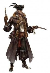 black flag multiplayer character - The Navigator costume