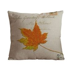 OneHouse Maple Leaf Square Cotton Linen Pillow Cover,Little Athlete Series OneHouse http://www.amazon.com/dp/B00PU0CG20/ref=cm_sw_r_pi_dp_IwdUvb11RY13J
