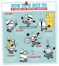 Office safety Avoid doing these!