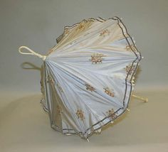 Parasol Made Of Silk, Ivory And Metal - French  c.1860's  -  The Metropolitan Museum Of Art