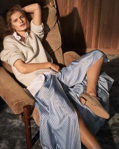 Photography: Tobias Lundkvist Styled by: Lisa Lindqwister Hair: Martina Senke Makeup: Ignacio Alonso Model: Signe Veiteberg